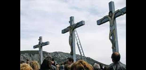 H Αποκαθήλωση στο Λόφο της Ι.Μ.Παναγίας Ξενιάς(video)