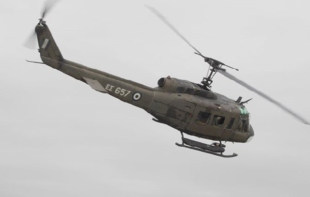Εντοπίστηκε κοντά στην Ελασσόνα το στρατιωτικό ελικόπτερο