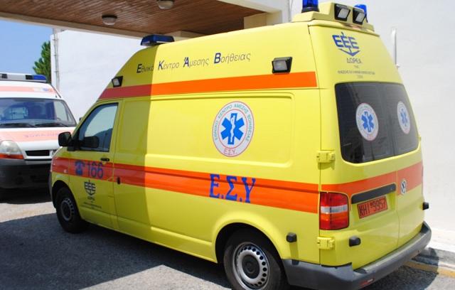 Χωρίς βάρδια ασθενοφόρου το Βελεστίνο