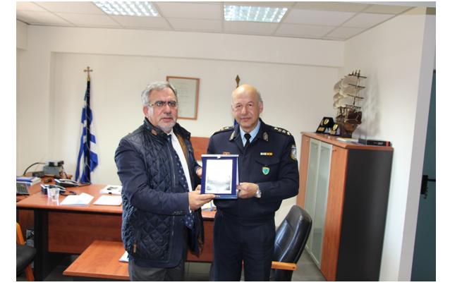 Βράβευση της Εταιρίας Διανομής Αερίου από την Τροχαία Θεσσαλονίκης