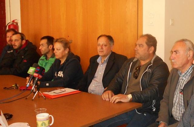 Απεργιακή συγκέντρωση του ΠΑΜΕ την Πρωτομαγιά στο Βόλο