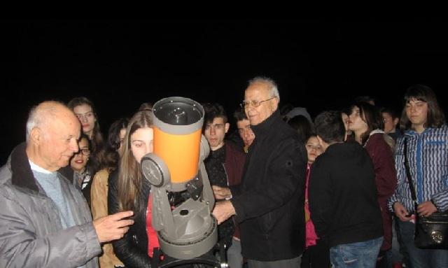 Τηλεσκόπια θα στηθούν στην παραλία του Βόλου