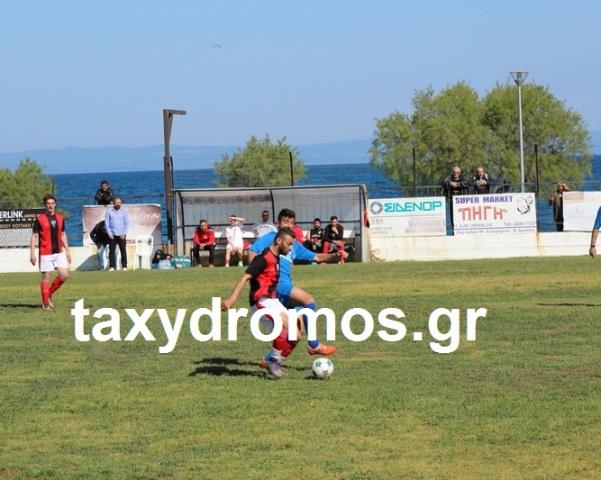 Πέρασε και πάλι στη 2η θέση ο Διαγόρας, εντυπωσιακός ο Σαρακηνός κέρδισε τον Πύρασο με 4-2!