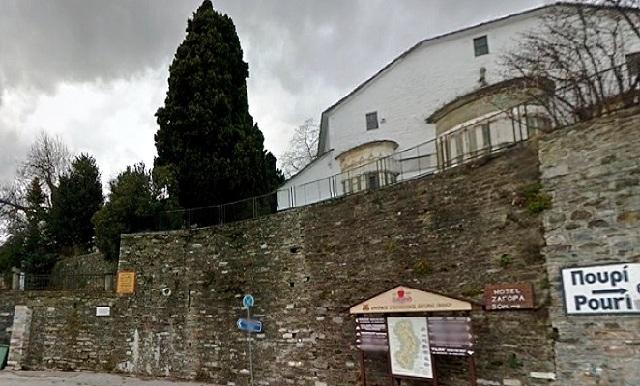 Ανάδειξη της πλατείας Αγίου Γεωργίου Ζαγοράς