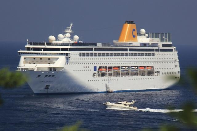 Στο Λιμάνι του Βόλου το πρώτο κρουαζιερόπλοιο της φετινής σεζόν