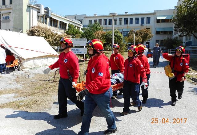 Εκρηξη, φωτιά, εγκλωβισμένοι μετά από σεισμό στο Νοσοκομείο [photos]