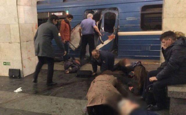 Ισλαμιστική οργάνωση ανέλαβε την ευθύνη για την επίθεση στο μετρό της Αγίας Πετρούπολης