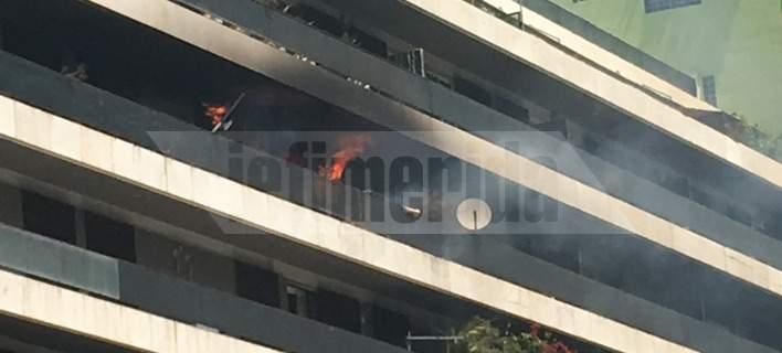 Μία γυναίκα νεκρή από φωτιά σε διαμέρισμα στη λεωφόρο Αλεξάνδρας