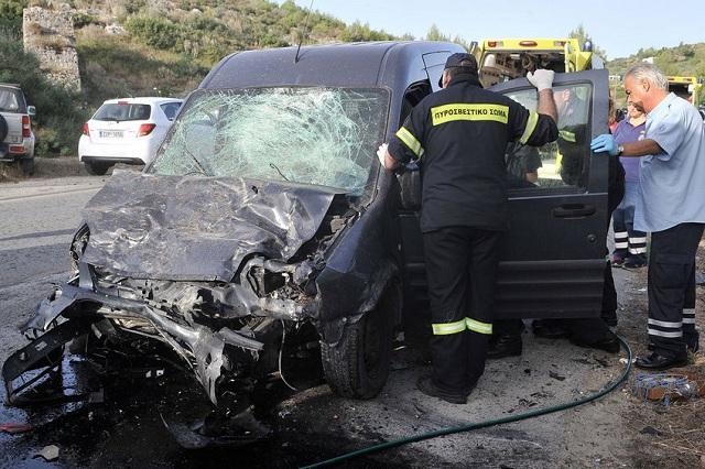 Ελληνική πρωτιά στα τροχαία με εμπλεκόμενο μόνο ένα όχημα