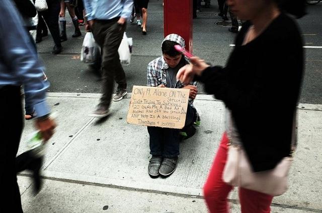 Στον δρόμο ζουν 33.000 μαθητές στη Νέα Υόρκη