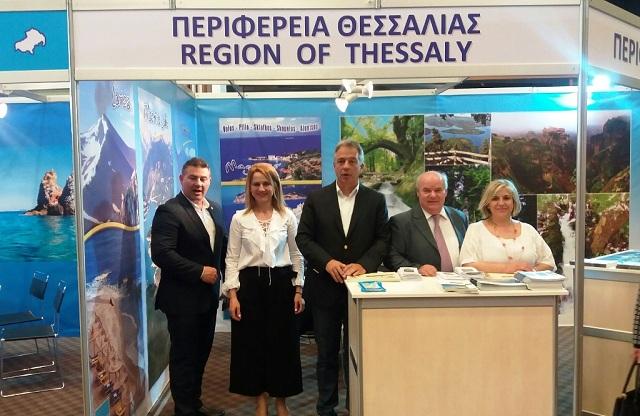 Προβολή της Θεσσαλίας στην 20η έκθεση ΤΑΞΙΔΙ 2017 στην Λευκωσία