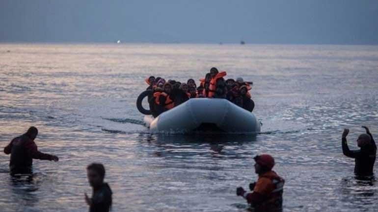 Διάσωση 58 μεταναστών και σύλληψη των διακινητών τους στη Χίο
