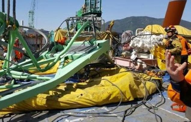 Γερανός 32 τόνων καταπλάκωσε έξι εργάτες σε ναυπηγείο στη Ν. Κορέα