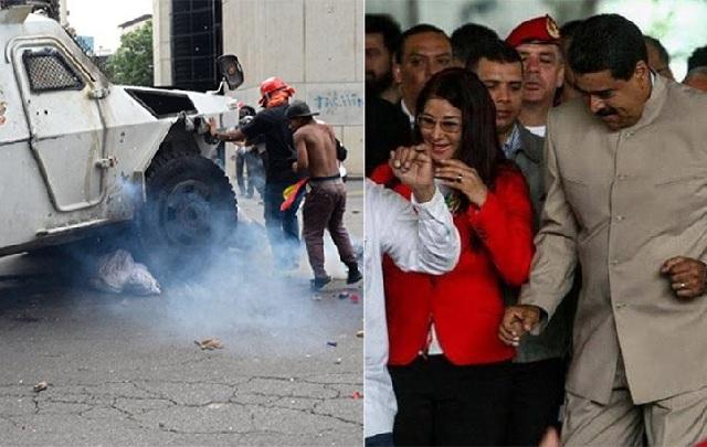 Βενεζουέλα: 34 νεκροί σε ένα μήνα διαδηλώσεων και ο Μαδούρο... χορεύει!