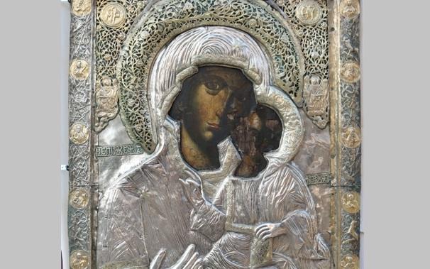 Η Εικόνα της Παναγίας Επισκέψεως στην Ανάληψη
