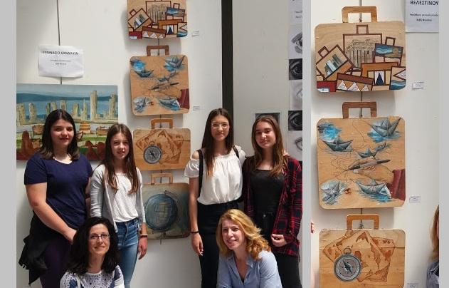 Εντυπωσίασαν οι δημιουργίες μαθητών του Γυμνασίου Βελεστίνου