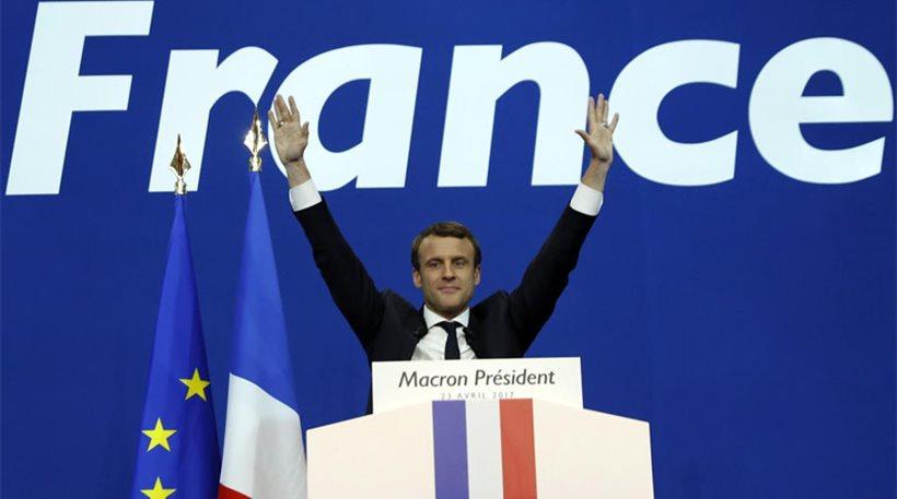 Η πρώτη ομιλία του προέδρου της Γαλλίας Εμάνουελ Μακρόν