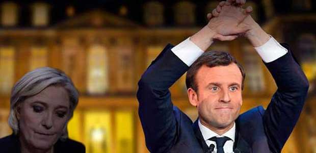 Πρόεδρος ο Μακρόν με 65,8% -Η Λεπέν 34,2%