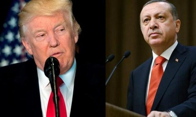 Πολυμελής τουρκική αντιπροσωπεία στις ΗΠΑ για να «σώσει» την συνάντηση Τραμπ-Ερντογάν