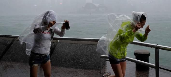 «Μπλε» συναγερμός στην Κίνα. Φοβούνται καταστροφές από καταιγίδες που έρχονται