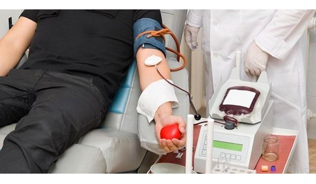 Εθελοντική αιμοδοσία στον παραλία του Βόλου