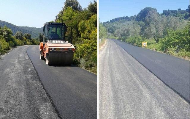 Ασφαλτικές εργασίες στο οδικό δίκτυο του Δήμου Ν. Πηλίου