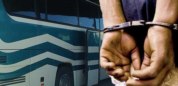 Οδηγός λεωφορείου συνελήφθη για διακίνηση ναρκωτικών