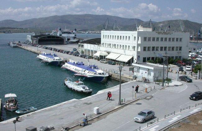 Διαμόρφωση χώρου στάθμευσης λεωφορείων στο Λιμάνι