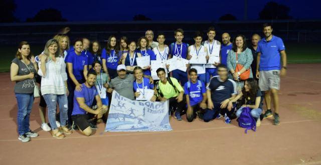 «Σάρωσαν» αθλητές κι αθλήτριες της Νίκης