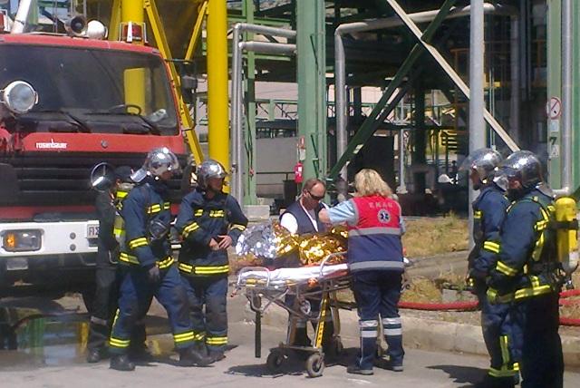 Εκπαίδευση υπαλλήλων της Πυροσβεστικής