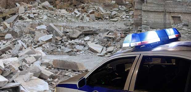 «Ντου» της Αστυνομίας στα λατομεία του Πηλίου
