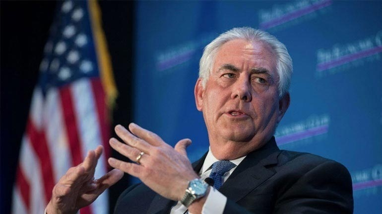 Τίλερσον: «Κανένα νέο ξεκίνημα στις σχέσεις ΗΠΑ-Ρωσίας»