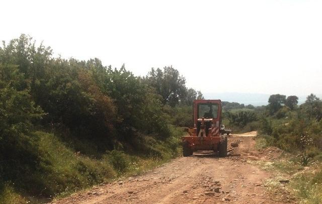 Εργα αγροτικής οδοποιίας και πυροπροστασίας