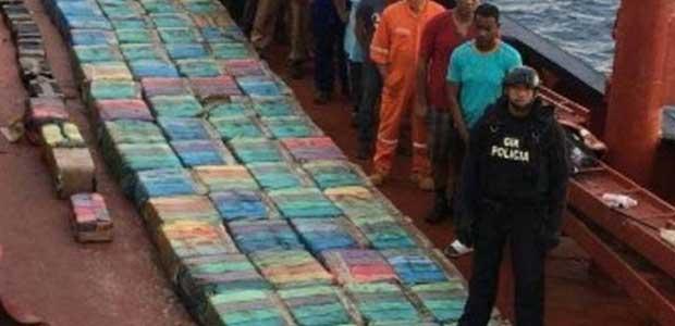 'Επιασαν το μεγαλύτερο φορτίο κοκαΐνης στην ιστορία -φωτό