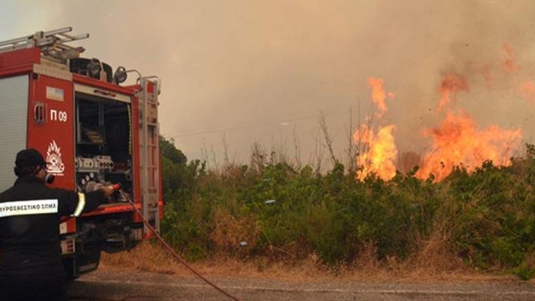 Ασκηση μεγάλης κλίμακας για αντιμετώπιση δασικής πυρκαγιάς