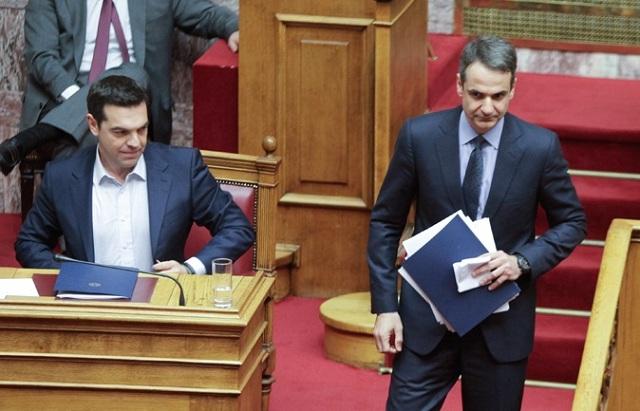 Μετωπική Τσίπρα - Μητσοτάκη στη Βουλή