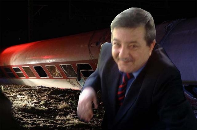 Το συγκινητικό αντίο ενός παιδικού φίλου στον Λαρισαίο σιδηροδρομικό Αρ. Καλαμπαλίκη