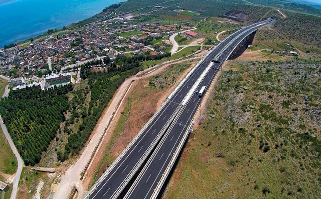 Κυκλοφοριακές ρυθμίσεις στον αυτοκινητόδρομο Α.Θ.Ε. στην περιοχή της Στυλίδας