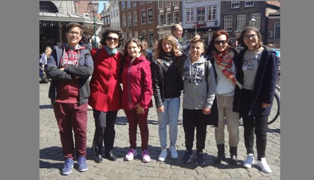 Μαθητές και εκπαιδευτικοί του Γυμνασίου Αγριάς στην Ολλανδία