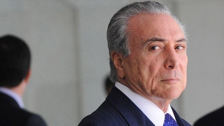 Ο Βραζιλιάνος πρόεδρος Τέμερ κατηγορείται για παρακώλυση της δικαιοσύνης