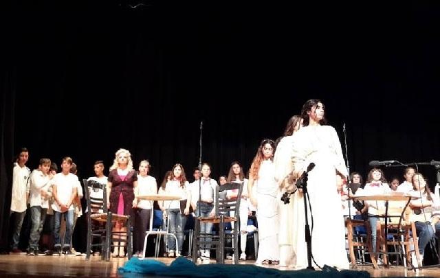 Μαθητές ένωσαν τη φωνή τους για την επιστροφή των γλυπτών του Παρθενώνα