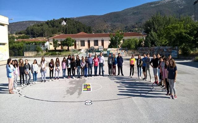 Μαθητές κατασκεύασαν ηλιακό ρολόι