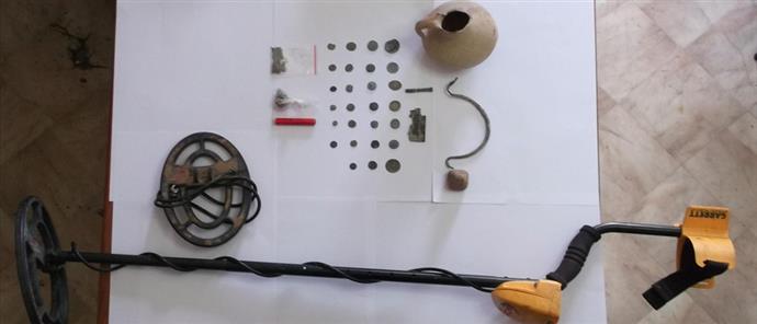 Σύλληψη αρχαιοκαπήλων που είχαν δεκάδες αντικείμενα μεγάλης αξίας