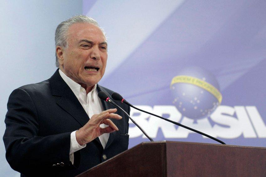 Στο... σκαμνί ο πρόεδρος της Βραζιλίας