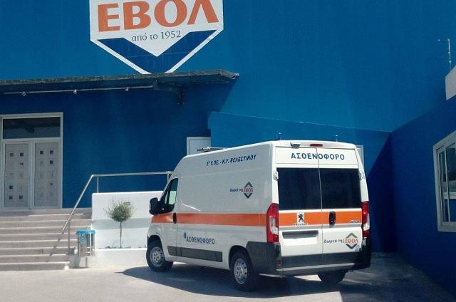 «Σκουριάζει» το νέο ασθενοφόρο στο Κέντρο Υγείας Βελεστίνου