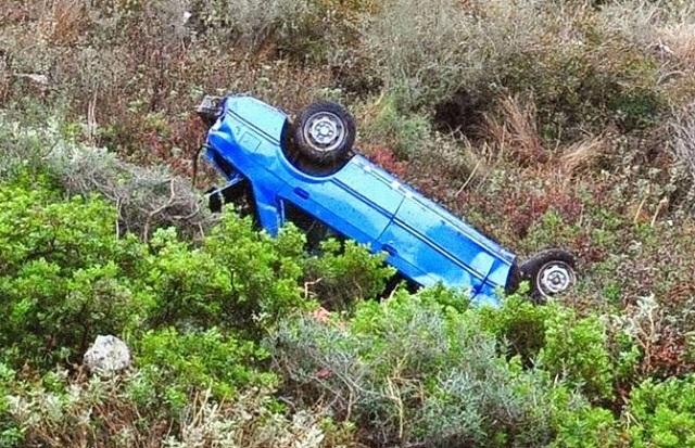 Βουτιά θανάτου για νεαρό οδηγό