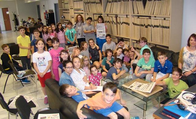 Στα γραφεία του ΤΑΧΥΔΡΟΜΟΥ μαθητές του 3ου Δημοτικού Βόλου