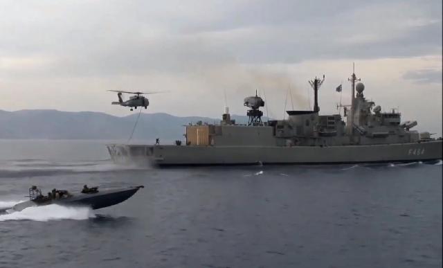 Πολεμικά πλοία θα καταπλεύσουν στα Λιμάνια Βόλου και Σκοπέλου
