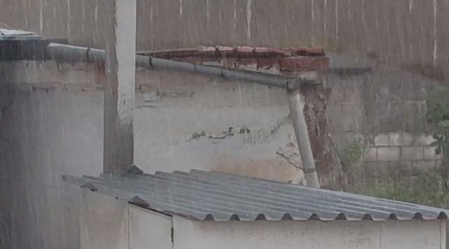 Χωρίς ρεύμα ο Αλμυρός. Ισχυρή βροχόπτωση και χαλάζι