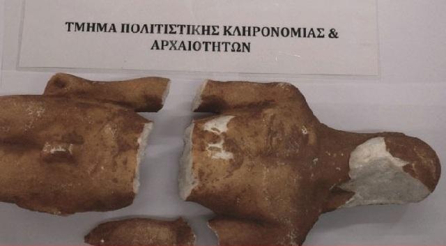 Επιχείρησαν να πουλήσουν αρχαίο Κούρο έναντι 200.000 ευρώ